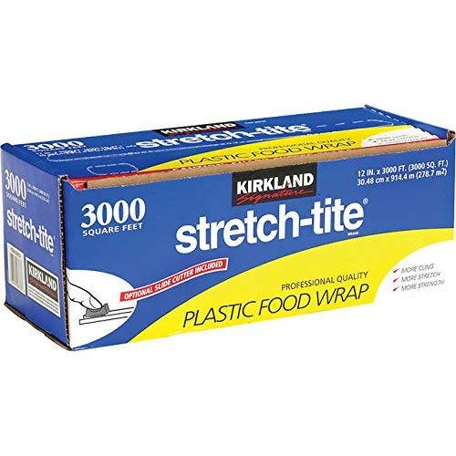 Kirkland Signature Stretch-Tite 12' X 3000' Food Wrap