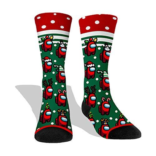 imposter Mens Socks christmas socks Imposter Sus Socks Men Women Christmas party -03