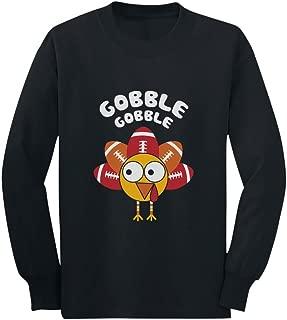 Little Turkey Thanksgiving Gobble Toddler/Kids Long Sleeve T-Shirt