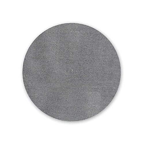MENZER Net Mallas Abrasivas con Velcro, 150 mm, Grano 150, para Lijadoras Roto Orbitales, Carburo de Silicio (25 Piezas)