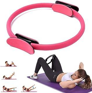 Anneau Pilates Circle 38 cm Pilates Circle Exercise Anneaux Pilates Circle Anneau de R/ésistance Loop Yoga Circle Yoga Gym Entra/înements pour br/ûler les graisses Renforcer lint/érieur et lext/érieur des cuisses