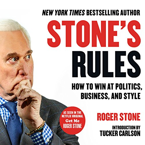 Stone's Rules audiobook cover art