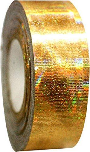 Pastorelli Galaxy - Cinta adhesiva metálica para decoración de aros, Dorado