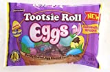 Tootsie Roll (1 Bag) Eggs - Candy Coated Individually Wrapped Easter Egg Shaped Tootsie Rolls - Net Wt. 3.5 oz / 99 g