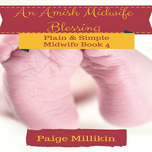 An Amish Midwife Blessing audiobook cover art