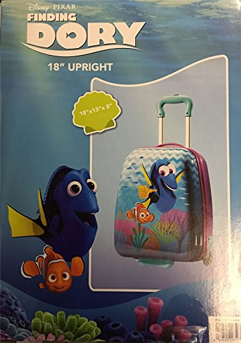 Disney Pixar Finding Dory 18' Upright Hard Shell Suitcase Cabin Luggage Kids Children