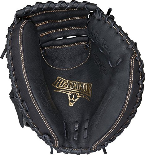Rawlings Renegade Series Baseball Catcher's Mitt, Right Hand, 1-Piece Solid Web, 32-1/2 Inch