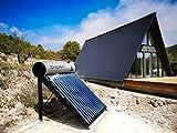 ENERA Calentador Solar de Agua (termosifón Solar) con Tubos de vacío Heat-Pipe (200 litros)
