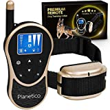Best Dog Training Collars - Planetico Remote Dog Training Collar - Large Clear Review