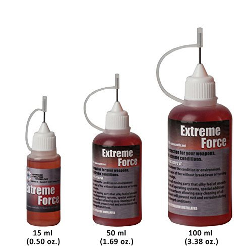 Gun Oil, Firearms & Weapons Oil, Lubricant, Protectant. Extreme Force Weapon's Lube (100 ml)