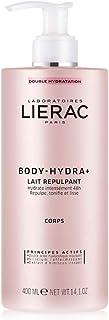 Lierac Body Hydra+ Latte Idratante e Rimpolpante Corpo con Acido Ialuronico, per Tutti i Tipi di Pelle, Formato da 400 ml