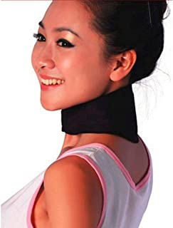 GOUWEI Tourmaline Neck Guard Self-heating Brace Magnetic Therapy Wrap Protect Belt Spontaneous Heating Neck Braces Support...