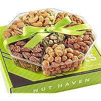 Nut Haven Fresh Sweet & Salty Dry Roasted Gourmet Gift Basket