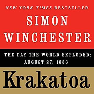 Krakatoa audiobook cover art