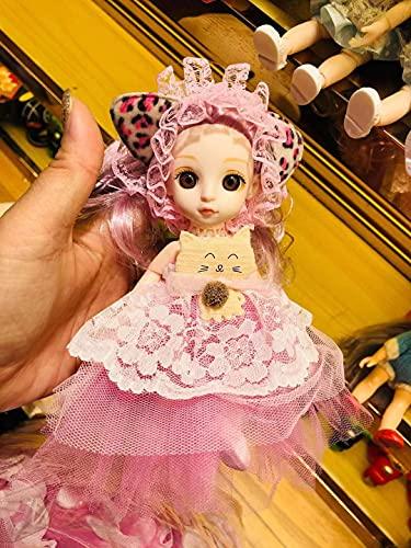 15 cm para muñecas Barbie, todas las articulaciones son actividades DIY juguetes con conjunto completo ropa zapatos peluca maquillaje, el mejor regalo para niñas