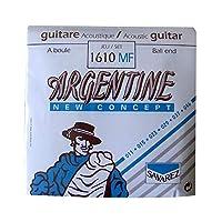 SAVAREZ 1610MF Argentine Ballend Light ジャズギター弦×3SET