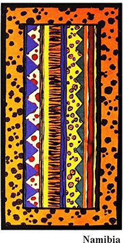 NAMIBIA BEACH TOALLAS VELOUR 100% ALGODÓN MEGA GRANDE 102X183CM