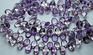 Jewel Beads Natural Beautiful jewellery 20 Pieces,Superb-Finest Quality Pink Amethyst Faceted Cut Stone Oval Shape,8mm sizeCode:- JBB-38150