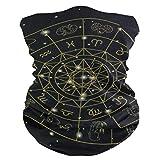 Bufanda de Bandana, Bufanda de Diadema de Pintura de constelación de Acuario, Diadema de protección Ultravioleta Adultos-Unisex, 25x50 cm