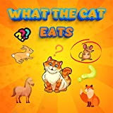 What the cat eats: My first one is looking and finding 2 years old with riddles to learn the food...