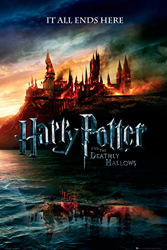 GB Eye Limited Harry Potter 7, Teaser, Maxi Poster (61 x 91.5cm), Pape