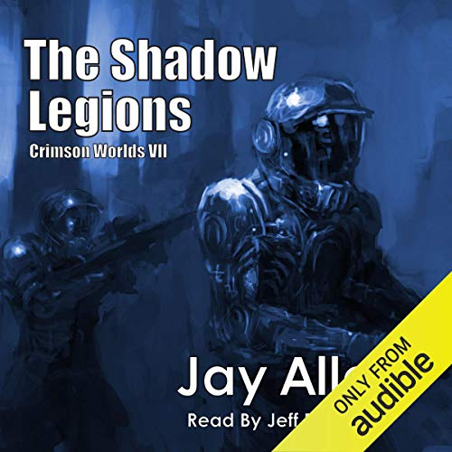 The Shadow Legions audiobook cover art
