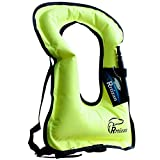 Rrtizan Swim Vests - Portable Inflatable Swimming Jackets Safety for Adults Women & Men, Ideal Buoyancy Aid for Snorkelling, Kayaking, Boating