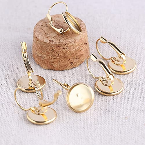 FC-15684 DIY-Jewelry In stock 5pairs Gold Plated Ba Elegant Steel Lever Stainless