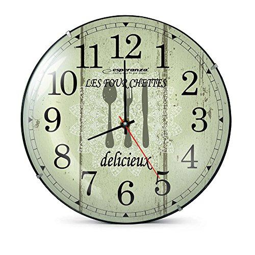 Esperanza wandklok WALL CLOCK PARIS diameter: 30 cm
