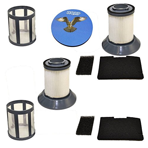 HQRP Paquet de 2 Ensemble de filtres pour Bissell Zing 2031532 Compatible avec 10M2 Aspirateur traîneau sans Sac sous-Verre