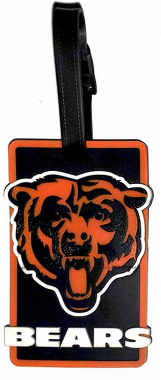 aminco NFL Chicago Bears Soft Bag Tag