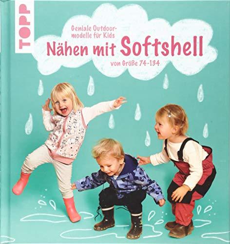 Nähen mit Softshell: Geniale Outdoormodelle für Kids von Größe 74-134