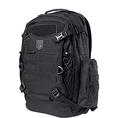 Cannae Pro Gear Phalanx Full Size Duty Pack With Helmet Carry Backpack Molle Webbing