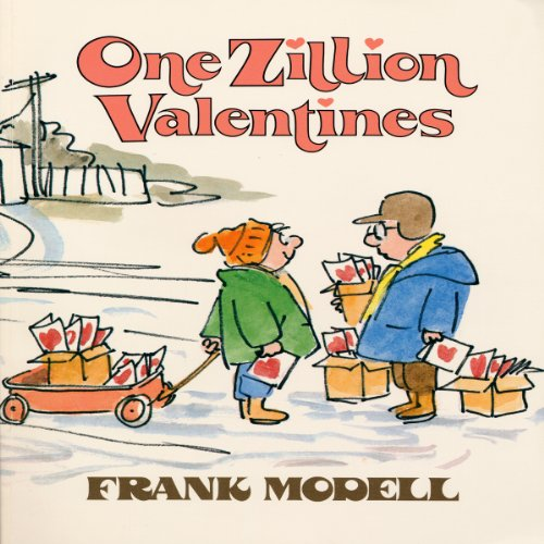 One Zillion Valentines audiobook cover art