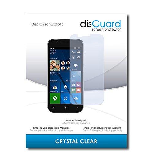 disGuard® Bildschirmschutzfolie [Crystal Clear] kompatibel mit Wileyfox Pro [2 Stück] Kristallklar, Transparent, Unsichtbar, Extrem Kratzfest, Anti-Fingerabdruck - Panzerglas Folie, Schutzfolie