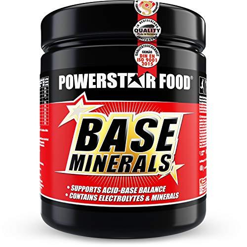 BASE MINERALS | 400g Basenpulver | Basische Mineralien | Organische Citrate | Für ausgeglichenen Säuren-Base-Haushalt & Elektrolytausgleich | 40-tägige Intensiv-Kur | Juicy Orange | Made in Germany