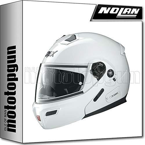 GREX BY NOLAN CASCO MOTO MODULARE G9.1 EVOLVE KINETIC METAL BIANCO 024 TG. L