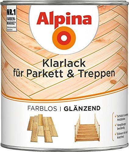 Alpina Klarlack für Parkett & Treppen GL 750 ML