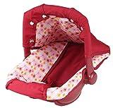 Götz 3401945 Porte-bébé Dorsal et siège Auto pour poupée (36 x 40x 29cm) - Porte-poupée pour Tous Les poupons de 30cm à 46cm et poupées de 45cm à 50cm