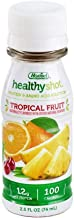 Hormel Health Labs Healthy Shot Protein & Amino Acid Supplement, Tropical Fruit, 2.5 Ounce, 24 Count