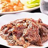 肉 牛肉 焼肉 厚切り秘伝のタレ漬け 牛 ハラミ 1kg 約4-6人前 食品 冷凍 バーベキュー ホルモン 業務用 訳あり