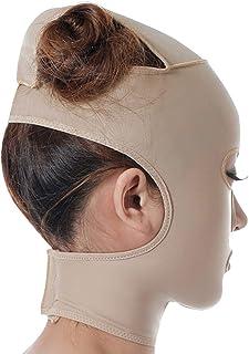 TLMY 引き締めマスクマスク美容薬マスク美容V顔包帯ライン彫刻リフティング引き締め二重あごマスク 顔用整形マスク (Size : M)