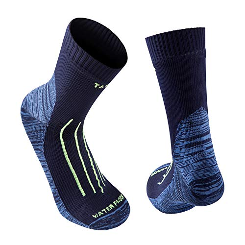 Tanzant Waterproof socks trekking, high performance lightweight breathable waterproof socks for men hiking cycling kayaking