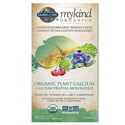 Garden Of Life Mykind Organics Organic Plant Calcium Caps 90 from Garden Of Life