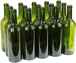 Bouteille de vin 750ml sans/avec bouchon Bouteille en verre Bouteille vide pour vin, liqueur, 3couleurs, vert ...