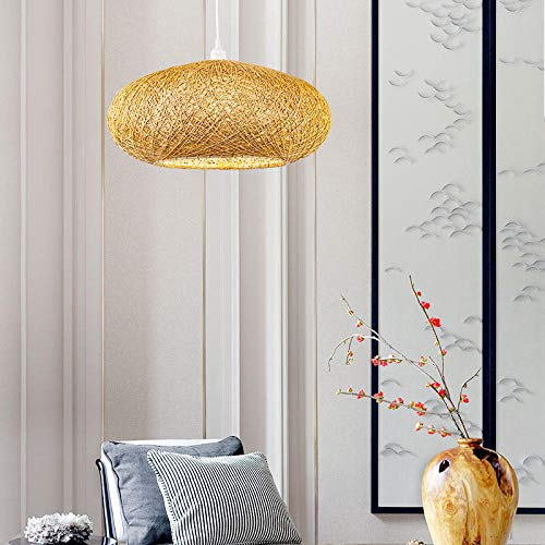 Hanglamp Zuidoost-Aziatische rotan tafellamp in hotelstijl in Chinese stijl