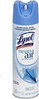 Lysol Neutra Air Sanitizing Spray, Fresh Breeze, 16oz, Air Freshener, Odor Neutralizer