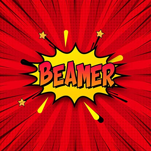 Beamer: Draw Your Own Comic Super Hero Adventures with this Personalized Vintage Theme Birthday Gift Pop Art Blank Comic Storyboard Book for Beamer | 150 pages with variety of templates