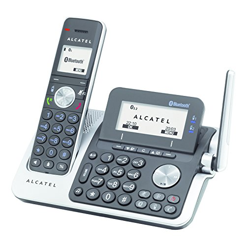 Alcatel XP2050 - Teléfono fijo digital (inalámbrico, Bluetooth, pantalla LCD), negro: Alcatel: Amazon.es: Electrónica
