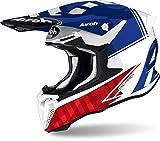Airoh Helmet Twist 2.0 Tech Blue Gloss, T18, S
